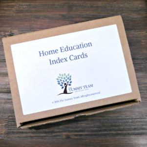 Home Education Index Cards